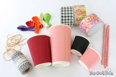 This post is sponsored by The Reject Shop Here is a challenge for you: get a paper cup (or two or three) and see how many instruments you can make from it.We tried thischallenge and cam…
