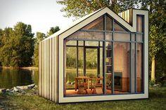 Д.В.Крадинов - Bunkie: сборный садовый домик от канадских архитекторов