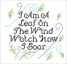 Hey, I found this really awesome Etsy listing at https://www.etsy.com/listing/114135873/leaf-on-the-wind-cross-stitch-pattern