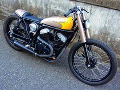 Yamaha SRV250 Brat Style by Wedge #motorcycles #bratstyle #motos | caferacerpasion.com