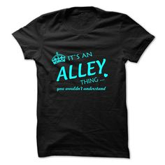 [New last name t shirt] ALLEY-the-awesome Shirts 2016 Hoodies, Funny Tee Shirts