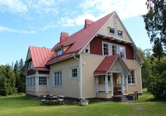 Villa Zilliacus (Espoo, Finland). In a island in the Baltic Sea.