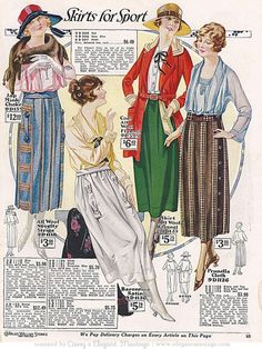1920s skirts