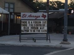 El Arroyo sign, talking to me again. I love living where I pass it multiple times per day!