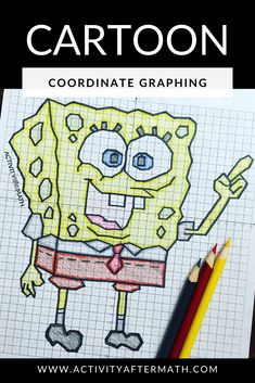 Graphing Slope Intercept Form Lines - Christmas Algebra Activity Early Finishers Activities, Graphing Activities, Wonder Novel, Happy Pi Day, Thanksgiving Math, Mystery, Foto Transfer, Halloween Math, Cartoon