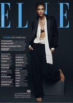 Ana Beatriz Barros for Elle Spain January 2015 by Xavi Gordo