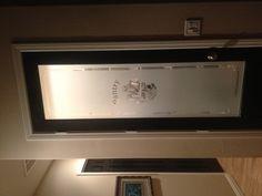 Black door AND a frosted pantry door !!