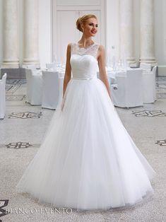 robe de mariée princesse en tulle et dentelle