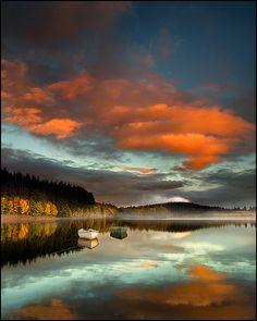 Rusky reflections by Stuart Low