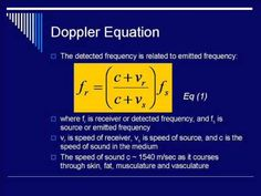 ▶ Doppler Lecture: Segment#1 - YouTube by jchannmeister