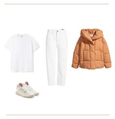 """""""January Whites"""" by marta-naffa-wr on Polyvore featuring Vince, Jakke and adidas Originals"""