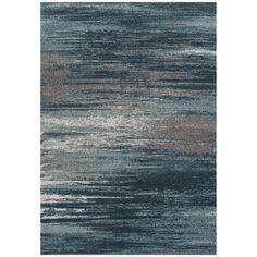 Dalyn Rugs, Rugs, Modern Greys MG5993 Teal Area Rug, 100% tri-color frieze polypropylene