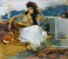Bullen, Renaissance Paintings, Victorian Art, Expositions, Vintage Artwork, Woman Painting, White Man, Cool Artwork, Alabama