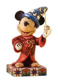 Disney Traditions by Jim Shore 4010023 Sorcerer Mickey Mouse Personality Pose Figurine 4-1/4-Inch by Enesco, http://www.amazon.com/dp/B001B97WO6/ref=cm_sw_r_pi_dp_JcB9qb06EKXGH