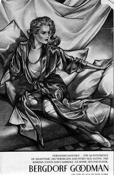 George Stavrinos on Pinterest | Fashion Illustrations, Bergdorf ...