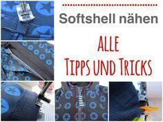 Softshell nähen: Tipps und Tricks » Softshell, Jacke, Beleg, Naht…