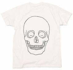 """KAO """"Skull"""" Tee. Artist: Hisashi Okawa"""