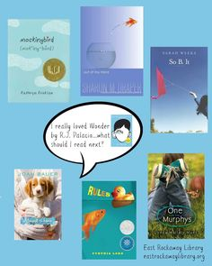 East Rockaway Public Library: If you Liked Wonder by R.J. Palacio, here's some readalikes!