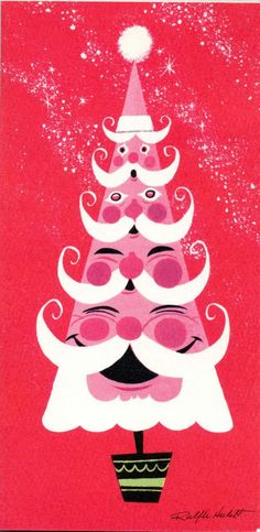 Ralph Hulett's Christmas illustration