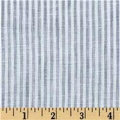 Telio Umbria Linen Grey Big Stripe