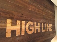 #highline nYC C&C cut at #google offices in #reclaimed antique Longleaf pine