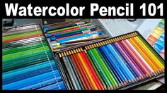 LIVE! Watercolor Pencil 101 // 12:30pm ET Today! It's everything you ever wanted to know about watercolor pencils. I will have several brands on hand and wil...