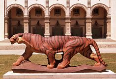 Chaffey High School Tiger Mascot