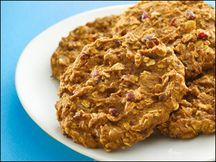 Hungry Girl Grab 'n Go Breakfast Cookies. Need to make these since I never have time in the morning to get breakfast!
