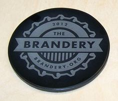 - Marble Coasters - Round - Laser Engraved - Made in the USA, Black, 100 Count Marble Coasters, Employee Gifts, Custom Coasters, Black Marble, Coaster Set, Laser Engraving, Decorative Plates, Count, Usa