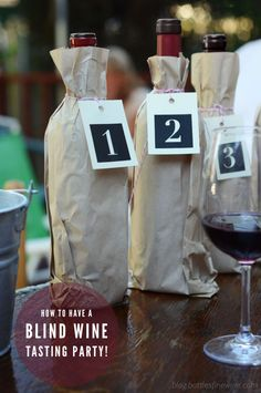 Have a blind wine tasting party! Free wine score card printouts on the blog!