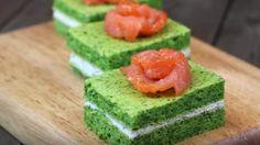 Закусочные Пирожные С Творожным Сыром И Красной Рыбой. Яркие Краски На Вашем Праздничном Столе - Все Для Женщины (ВДЖ)