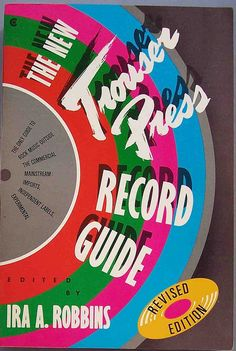 When I was growing up, this was the closest thing I had to a bible...from here to Pitchfork, music criticism has definitely lost a little something.