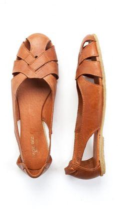 SHOEBIZ basketweave sandals
