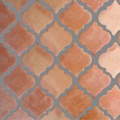 old world Tiles Australia - Saltillo Clay Floor Tiles - Lantern