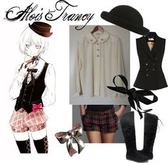 """""""Alois Trancy"""" by eialim on Polyvore -- Alois Trancy more like husband"""