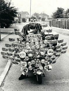 Vespa Scooters, Lambretta Scooter, Motor Scooters, Piaggio Vespa, Custom Vespa, Mod Scooter, Scooter Motorcycle, Foto Poster, Foto Art