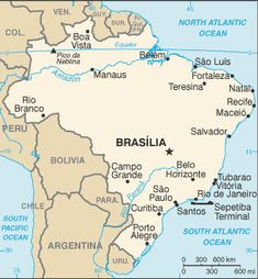 Brazil Country Information. The World Factbook from the U. Bolivia, Belem, Montevideo, African Countries, Countries Of The World, Ecuador, San Paulo, Brazil Facts, Rio De Janeiro