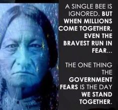 It's to their benefit that we are divided... they fear that we will stand together... Wake up people!!!!
