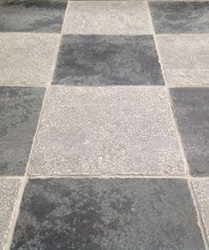 Bruges nero grey quarry tiles