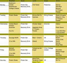 Excel-Diätkalender