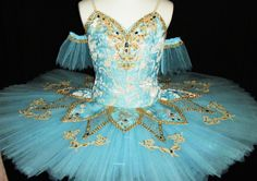 New Exclusive 2015 Collection! This highly professional tutu is created for the role of Princess Florina in The Blue Bird Variation and Pas de Deux. It can also be used for other classical roles, like