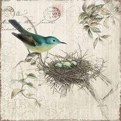 Nesting Canvas Print.