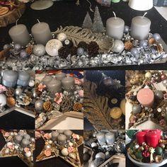 Saját készítésű Adventi asztali díszek. Advent, Table Decorations, Furniture, Home Decor, Homemade Home Decor, Home Furnishings, Decoration Home, Arredamento, Dinner Table Decorations