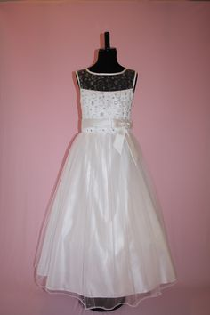 Beautiful First Communion/Flower Girl Dresses from Silk n Satin Communion Dresses.