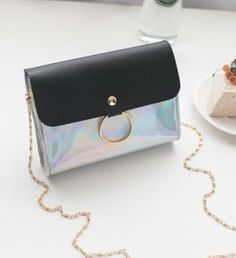 Laser Crossbody Bag for Women Chain Mini Shoulder Bag Circle Small Messenger Bag Womens Handbags and Purses Evening Clutch Bags – Red – Purses And Handbags For Teens Fall Handbags, Luxury Handbags, Purses And Handbags, Leather Handbags, Cheap Handbags, Luxury Purses, Handbags Online, Leather Bags, Prada Purses