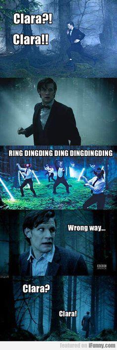 Clara?! Clara!! Ring Dingding Ding Dingdingding...