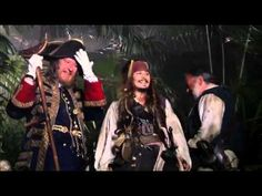 Pirates of the Caribbean bloopers and funny parts - YouTube