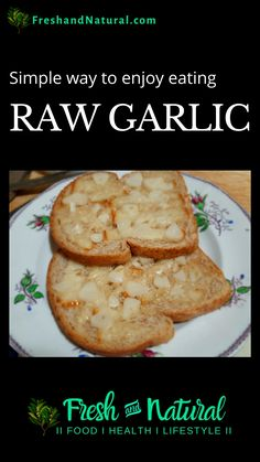 An easy way to eat raw garlic for health and vitality. Watch on... #shorts #story #FreshandNatural #HealthyEating #CleanFoods #alternativemedicine #naturalhealth #naturalremedies #healthfoods #healthyfoods #naturalfoods #organicfoods #farmersmarket #garlic #rawgarlic #eatingrawgarlic #nutrition #naturalhealing #herbalhealing Check out healing disclaimer on website... Clean Recipes, Organic Recipes, Healthy Recipes, Eating Raw Garlic, Cook At Home, Easy Food To Make, Health Foods, Natural Health, Healthy Eating
