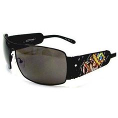 Ed Hardy King of Beasts Bulldog Sunglasses EHS017 - Black Ed Hardy. Save 60 Off!. $99.00