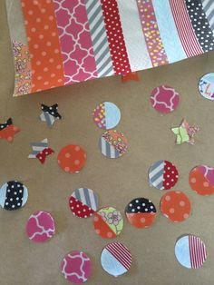 How to make your own stickers with washi tape